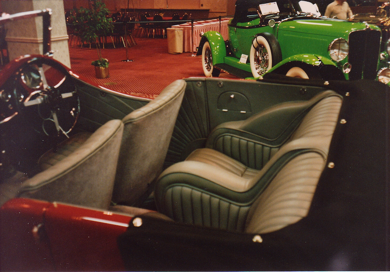 A 1933 SS1, predecessor to the Jaguar.